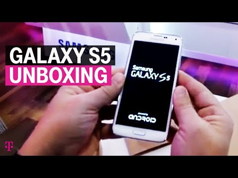 T-Mobile posts a little Galaxy S5 unboxing video, pre-order page now live (updated)