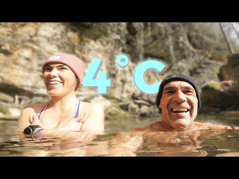 COMMENT SORTIR DE SA ZONE DE CONFORT FACILEMENT (baignade glacée)