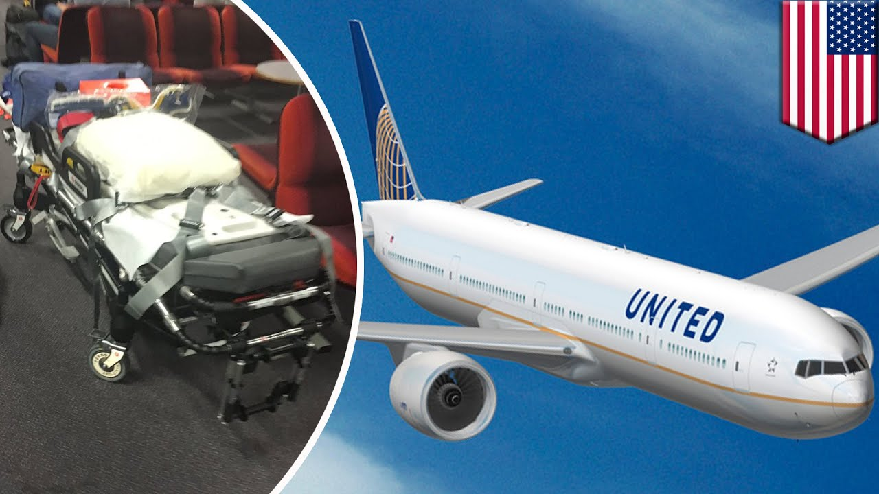 Turbulence injured 10 people on a United Airlines flight