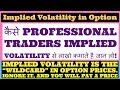 Implied Volatility Explained  Complete Tutorial to IV ...