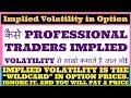 Implied Volatility In Option Chain Analysis (HINDI).
