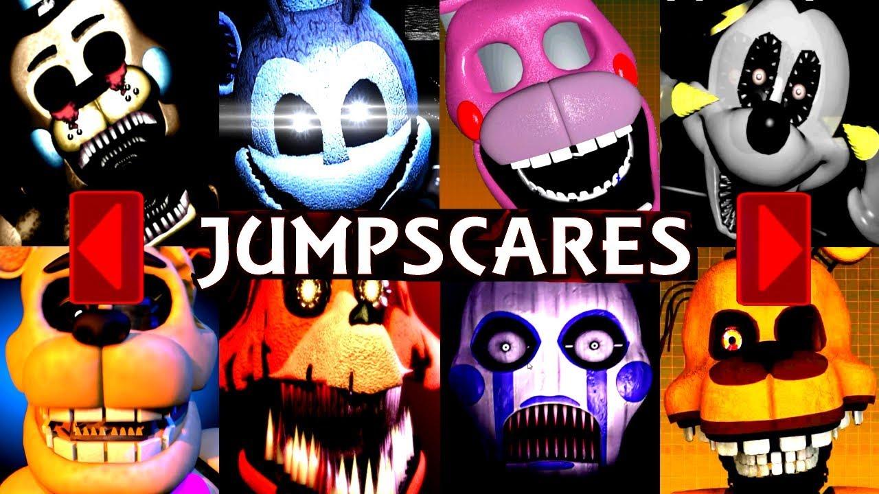 200 EXTRAS JUMPSCARES! | Iulitm | FNAF & Fan Games