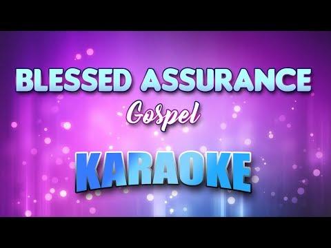Gospel - Blessed Assurance (Karaoke & Lyrics)