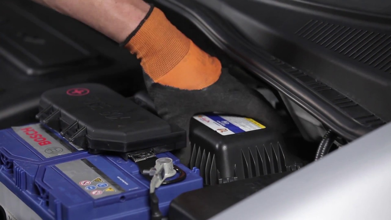 how to change air filter hyundai tucson