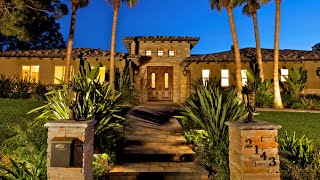 Mediterranean Estate With Canyon Views Of West Muirlands In La Jolla, California
