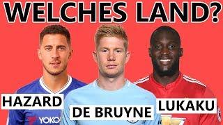 Erkennst du diese Nationalmannschaften an ihren Spielern? | Das WM-Special