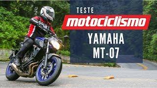 Conheça a nova geração da Yamaha MT-07