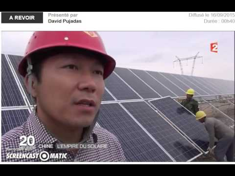 Energie Solaire chine