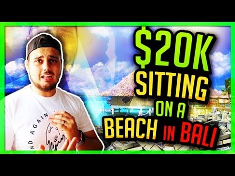 Entrepreneur Bali Vlog - $20k Sitting On A Beach