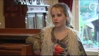 amira 9 opera singer of hollands got talent sings at home