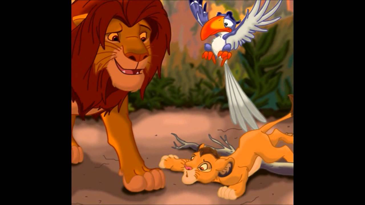 The Lion King Kopa And Simba Father And Son Youtube