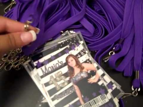 zebra quinceanera vip pass invitations at eventphotocards com youtube