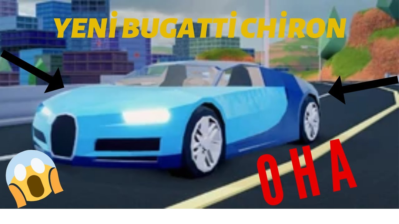 Roblox Jailbreak Bugatti Chiron