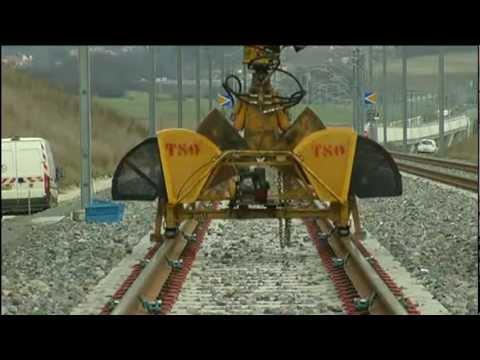 LRS « Long Rail Soudé »   LGV Rhin Rhône RFF