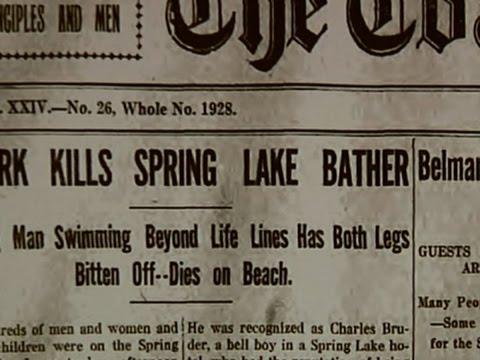 NJ Shark Attacks Remembered 100 Years Later