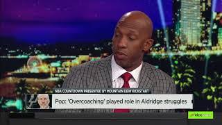 Popovich: 'Overcoaching' played role in LaMarcus Aldridge struggles | NBA Countdown