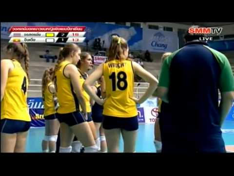 AUS VS IND 2012  South East Asian Junior Women's Volleyball Championships