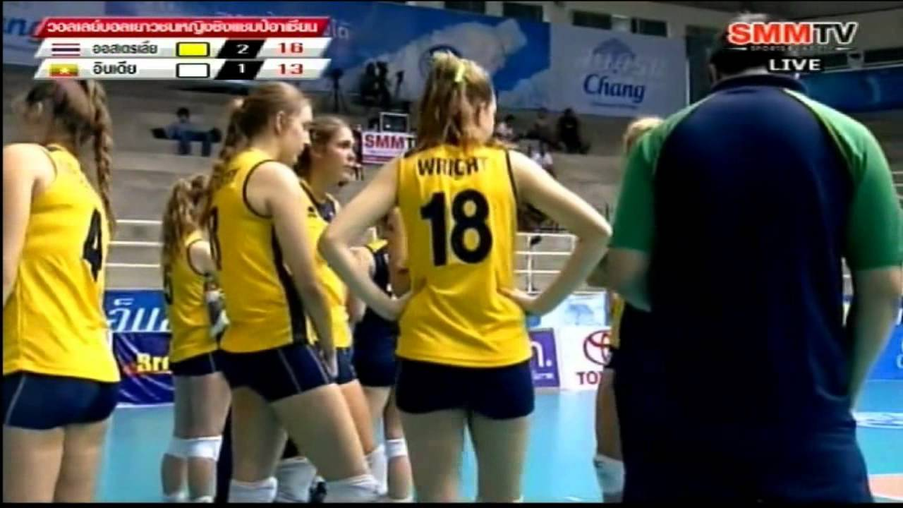 Aus Vs Ind 2012 South East Asian Junior Women S Volleyball Championships Youtube