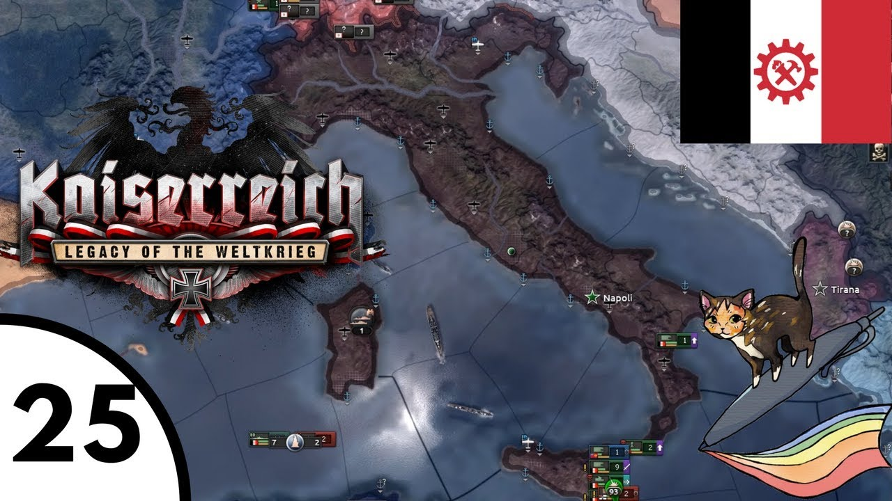 The Liberation Of Morocco [Hearts of Iron IV: Kaiserreich Mod: Italy] Ep  25