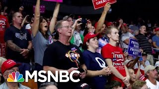 QAnon Conspiracy Theorists Increase Their Presence At Donald Trump Rallies | The Last Word | MSNBC
