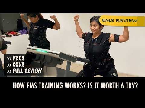 EMS Training Review | Lazy Workout To Get Stronger | What To Expect In EMS Training