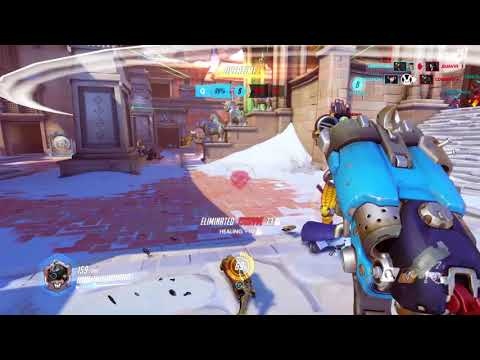 Scariest 30 seconds of Roadhog's life