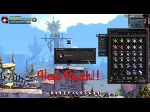 Dragon Nest Eu Open 72 Hero Pouch!!