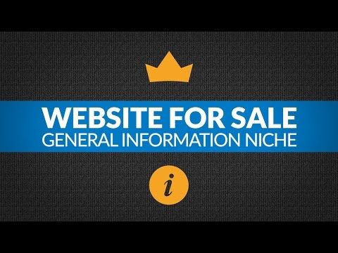 Website For Sale – $5K/Month in General Information Niche, Monetized with Amazon and AdSense