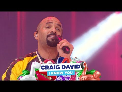 Craig David - 'I Know You' (live at Capital's Summertime Ball 2018)