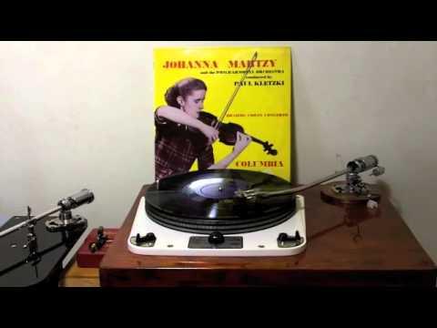 Johanna Martzy  Brahms Violin Concerto Garrard 301 sellrecordcollection.com