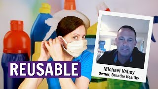 Breathe Healthy Face Masks Product Review with Michael Vahey
