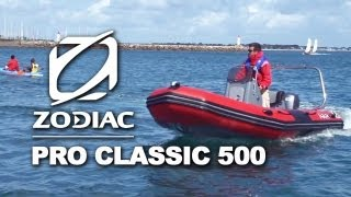 Zodiac Pro Classic 500 (2012) | Rigid Inflatable Boats (RIB)