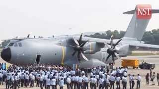 RMAF's Airbus A400M will debut at Lima'15