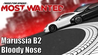 Need for Speed Most Wanted - Marussia B2 - Bloody Nose