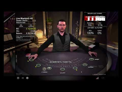 Lose €20,000 on Blackjack! We are out!