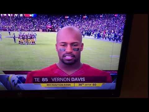 Vernon Davis.  Maryland.