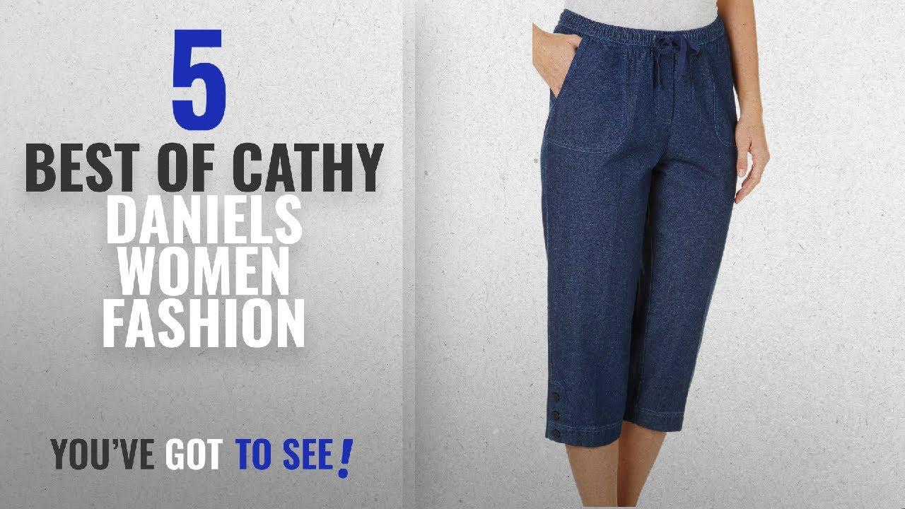 30bc2846441 Cathy Daniels Women Fashion  2018 Best Sellers   Cathy Daniels Womens  Drawstring Solid Capris