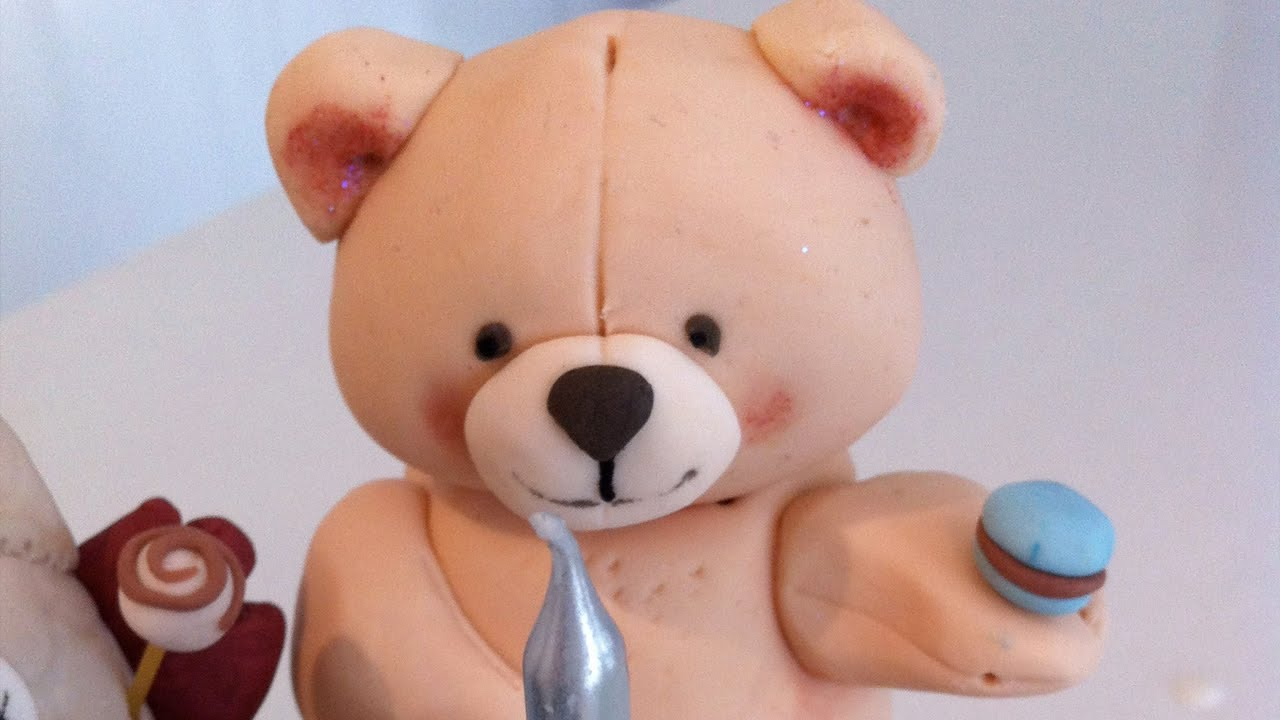 How To Make A 3D Fondant Teddy Bear Cake Decorating Tutorial Cook That Ann Reardon