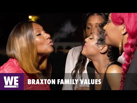 Braxton Family Values | Getting High in Jamaica | WE tv