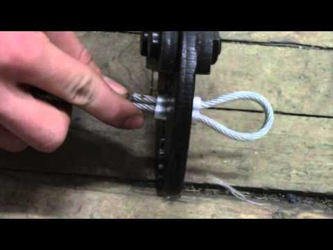 Worth W. Smith How-to Series How to crimp a cable - YouTube