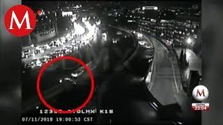 Video: Así Embistió Tráiler A Autos En La México Toluca