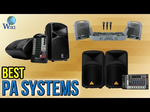 8 Best PA Systems 2017