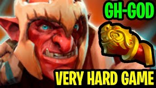 Very Hard Game - GH-GOD Troll Warlord 7.18 - Dota 2