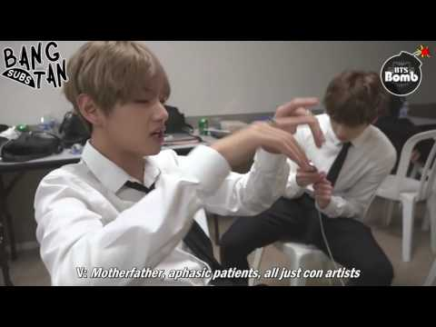 [ENG] 160923 [BANGTAN BOMB] V's Dream came true - 'His Cypher pt.3 Solo Stage'