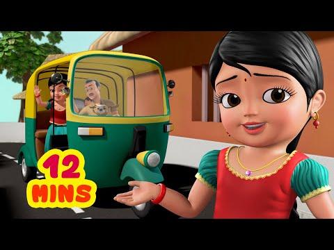 Download ஆட்டோ நண்பன் நானிருக்கேன் | Tamil Rhymes for Children | Infobells