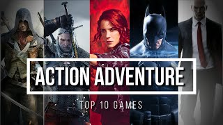 TOP 10 ACTION ADVEΝTURE GAMES FOR PC || PC 2020