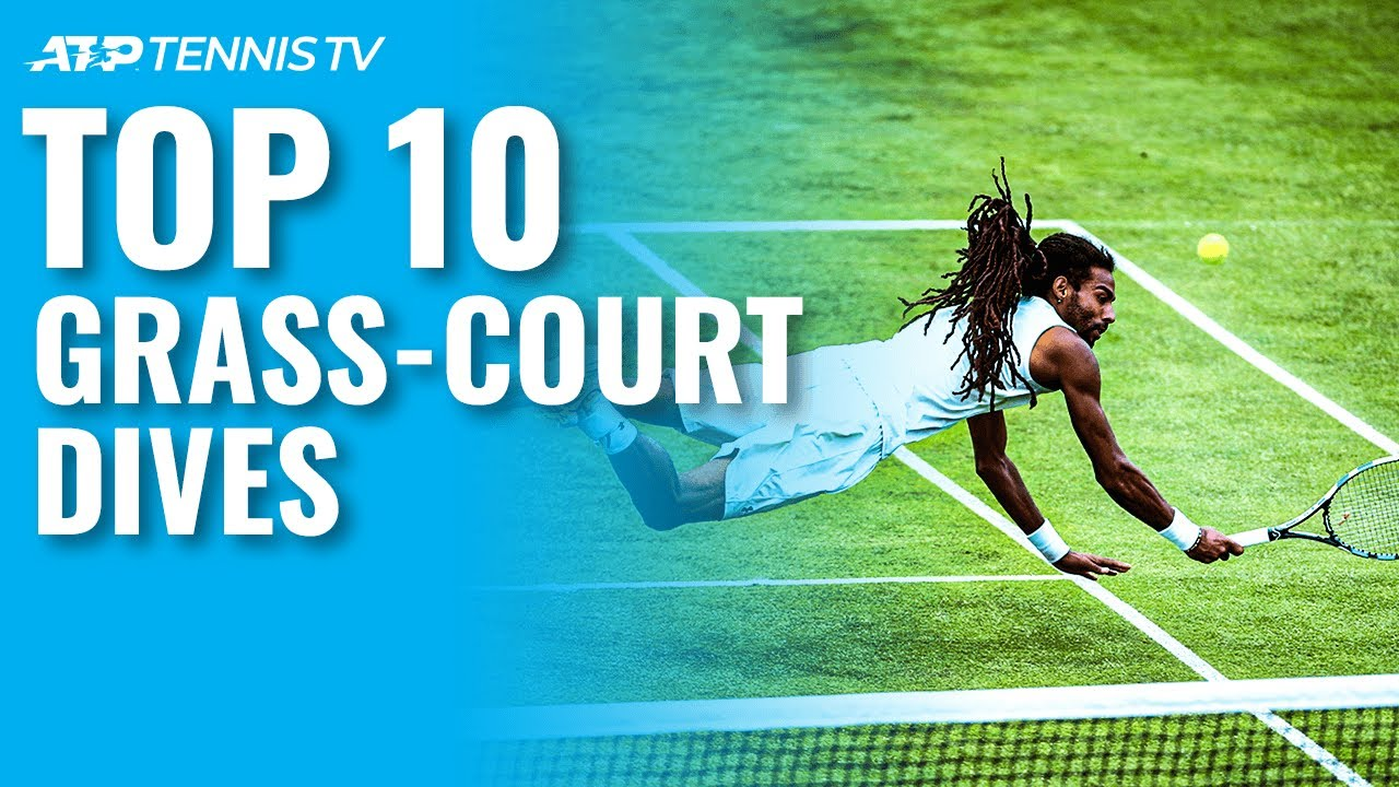 Greatest ATP Grass-Court Dives