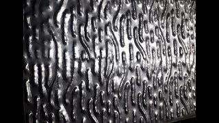 Пресс-форма для декоративного металлического листа (Чеканка).Press mold for decorative metal.