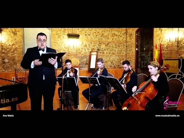 Ave Maria Schubert Tenor y cuarteto de cuerda Bodas Murcia Bodas Cartagena Bodas Alicante