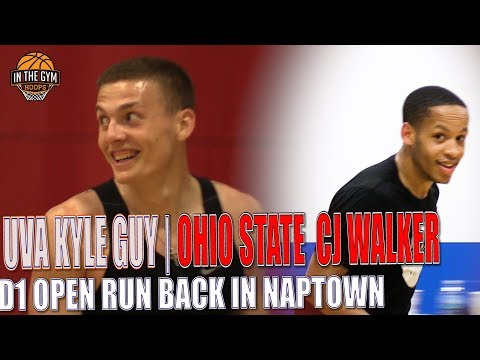 UVA Star Kyle Guy, Ohio State CJ Walker Back In Naptown D1 Open RUN